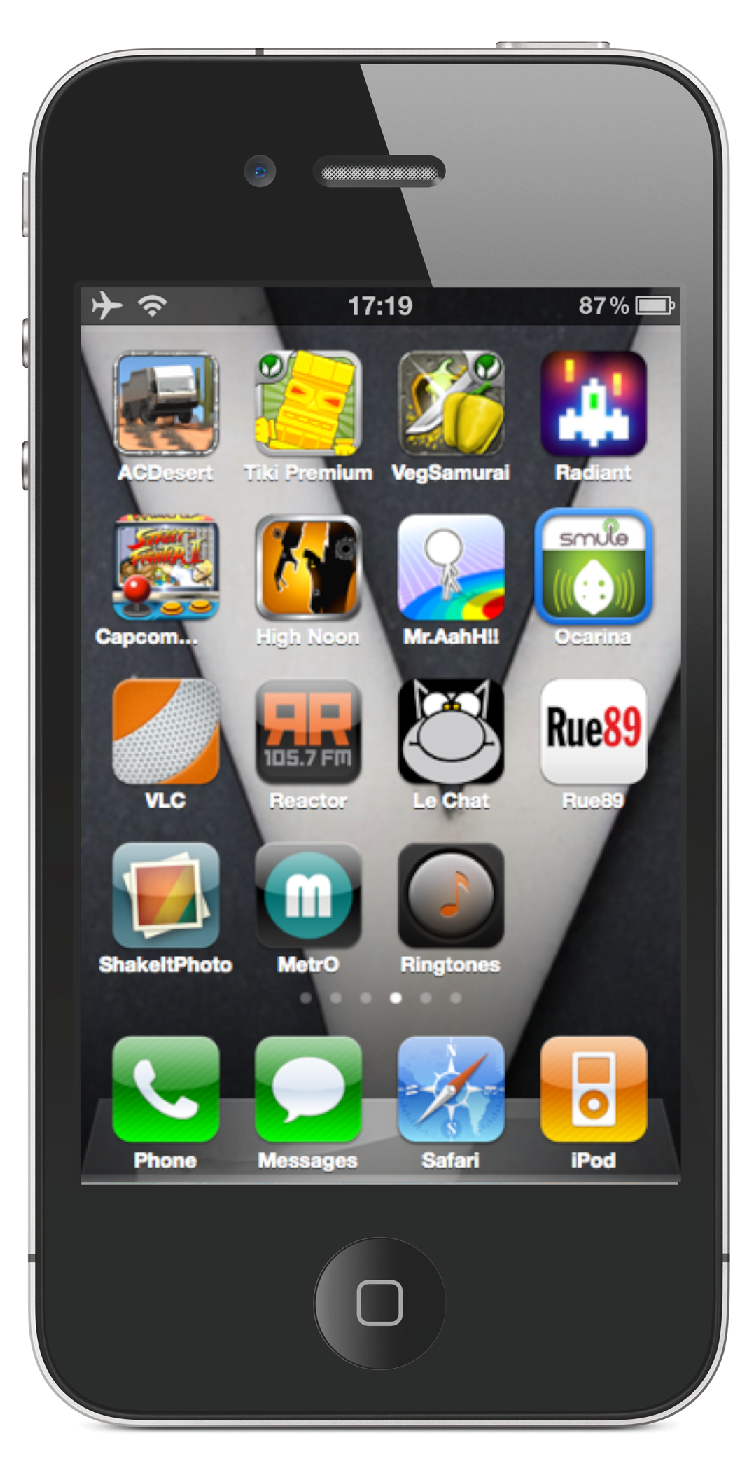 top iphone apps new page the y. Black Bedroom Furniture Sets. Home Design Ideas