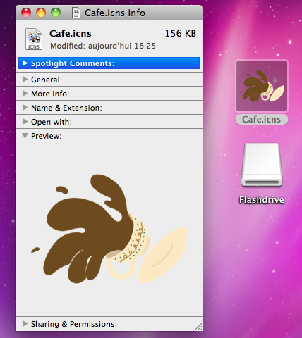 Mac OS X custom icons: any issues? (5/6)
