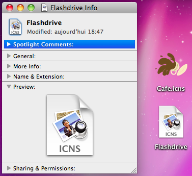 Mac OS X custom icons: any issues? (6/6)