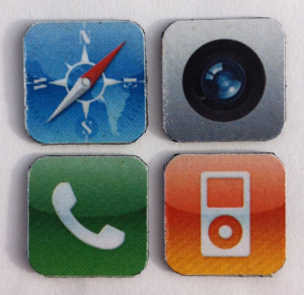 Do it yourself: iPhone app magnets (1/6)