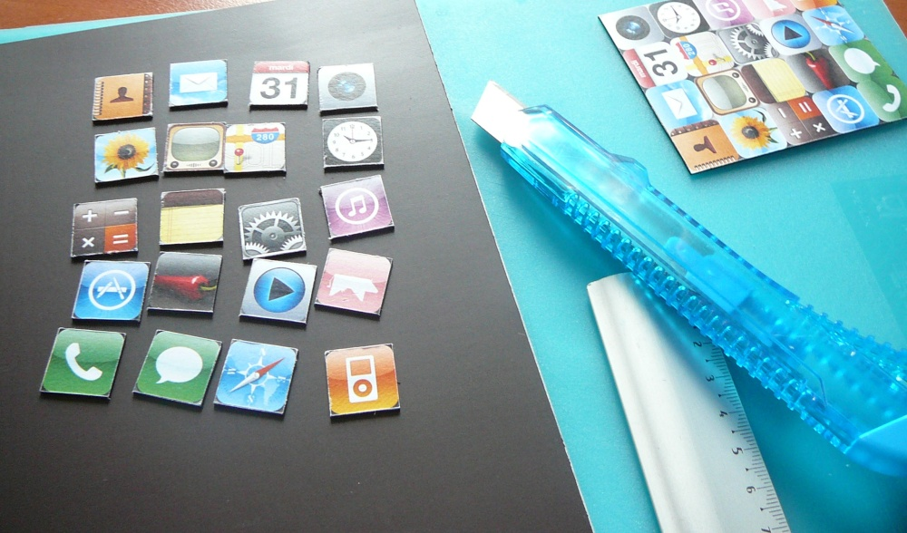 Do it yourself: iPhone app magnets (5/6)