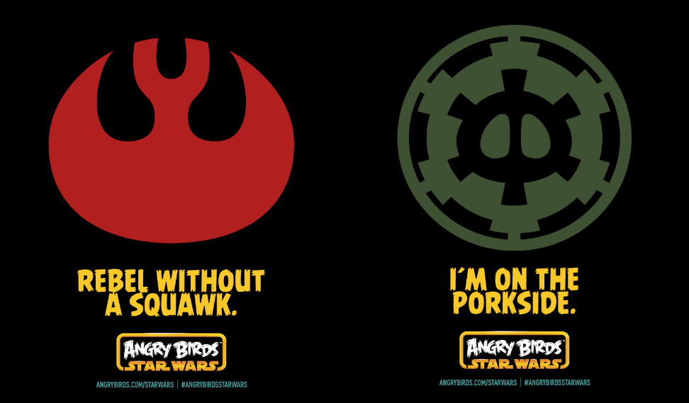 Angry Birds: May the Force be with you! (2/2)